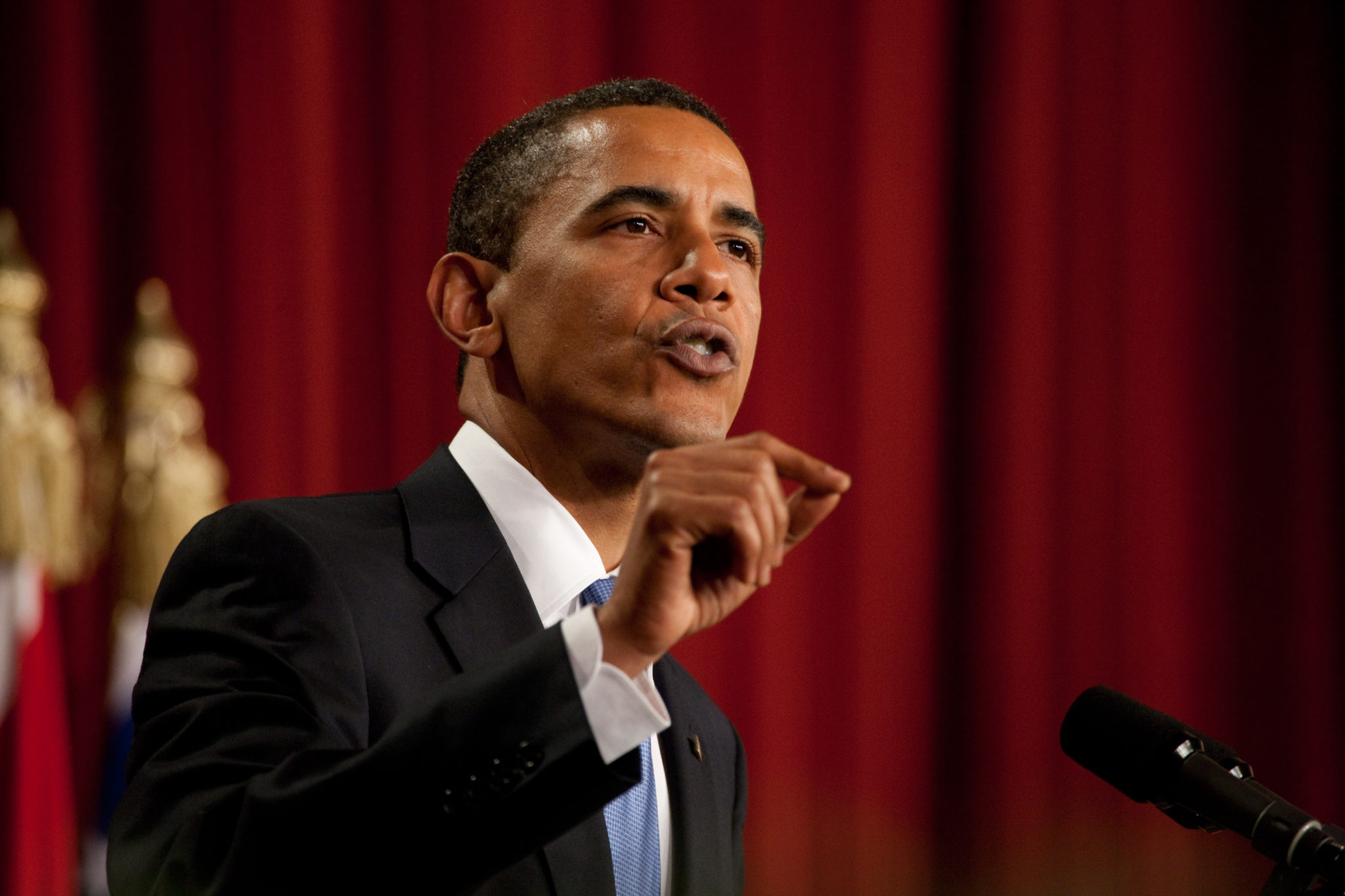 Obama listen speech
