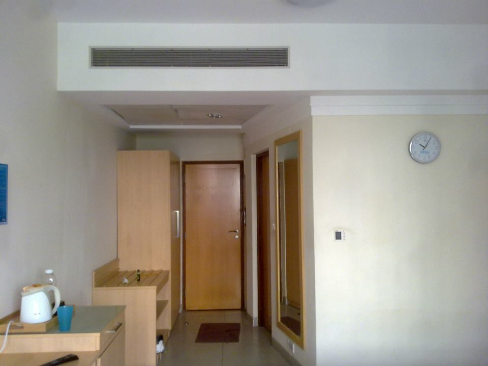Hostel Room Door