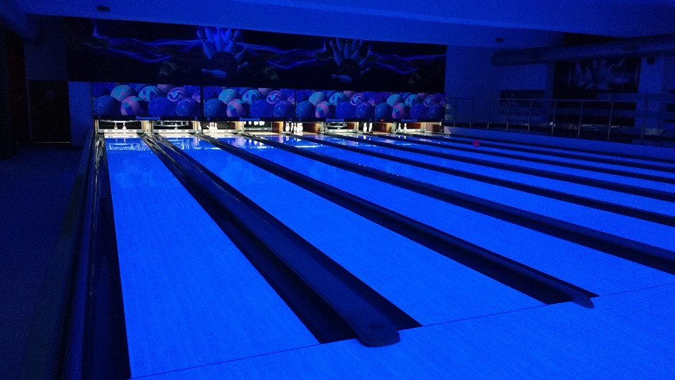 Bowling Alley Neon Lights