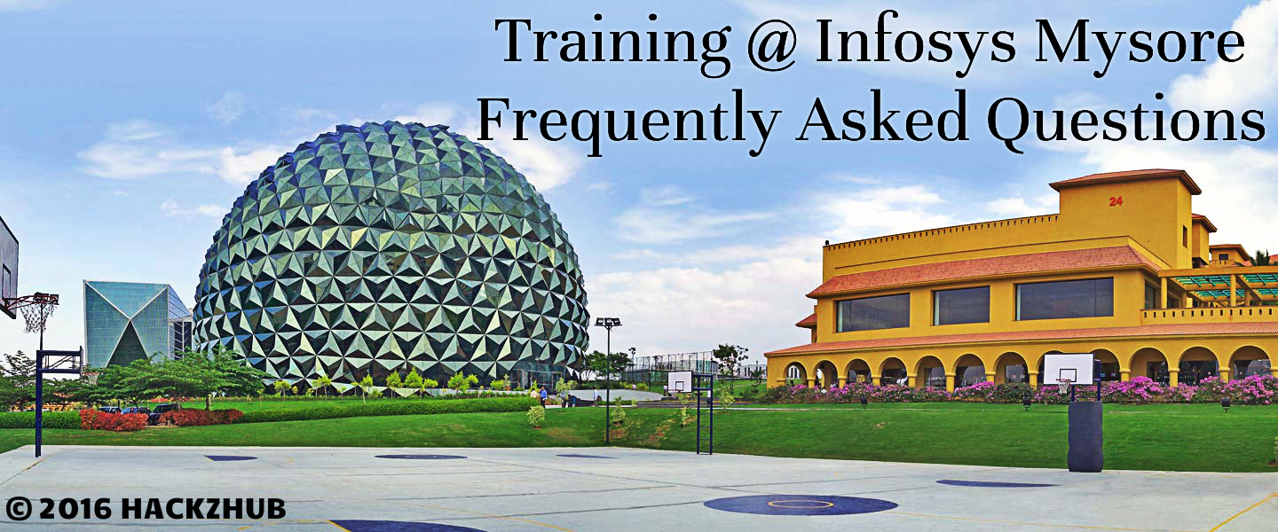 Training Infosys Mysore Frequently Asked Questions 2