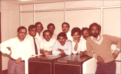 Infosys Founders & CEOs