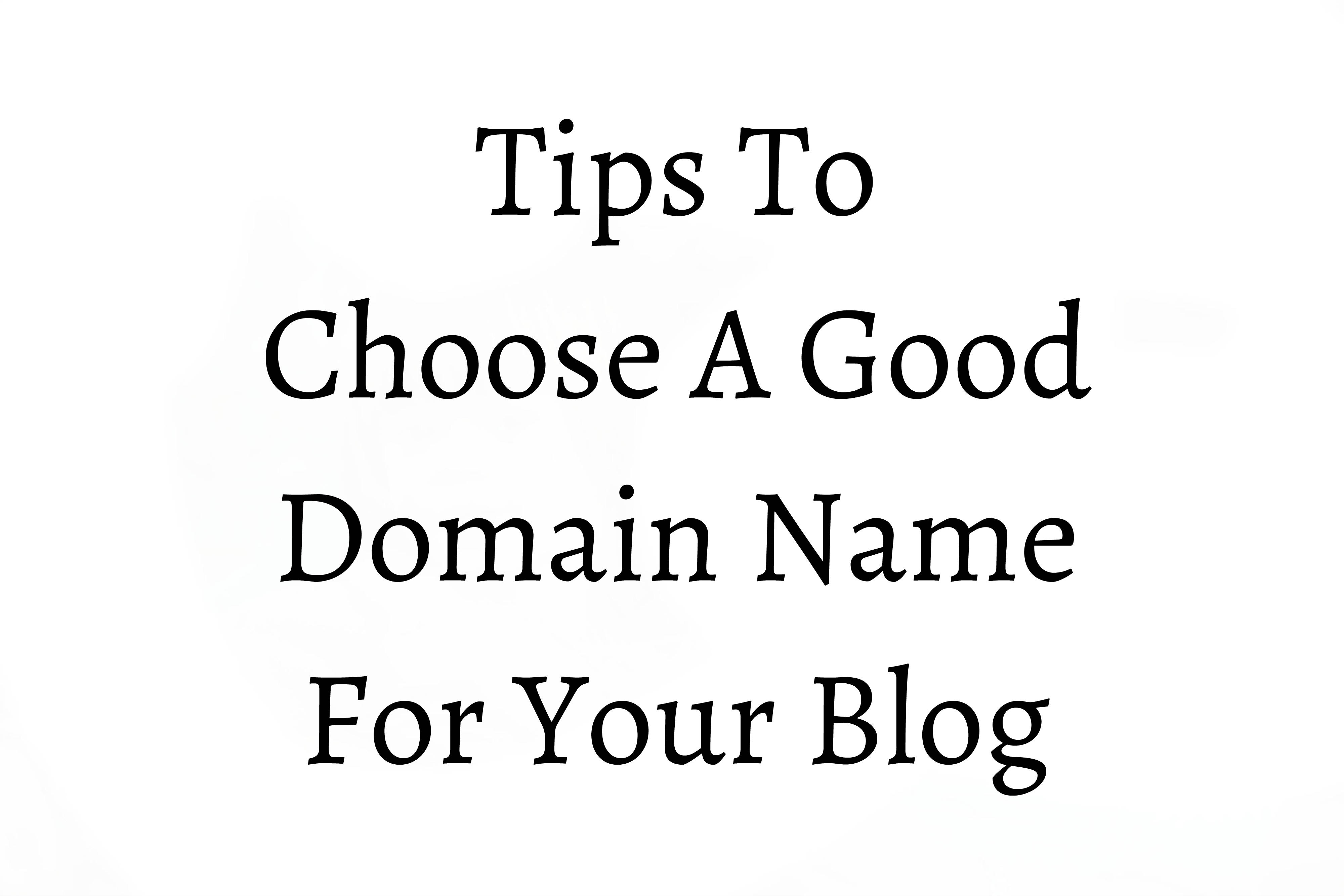 Tips Domain Name