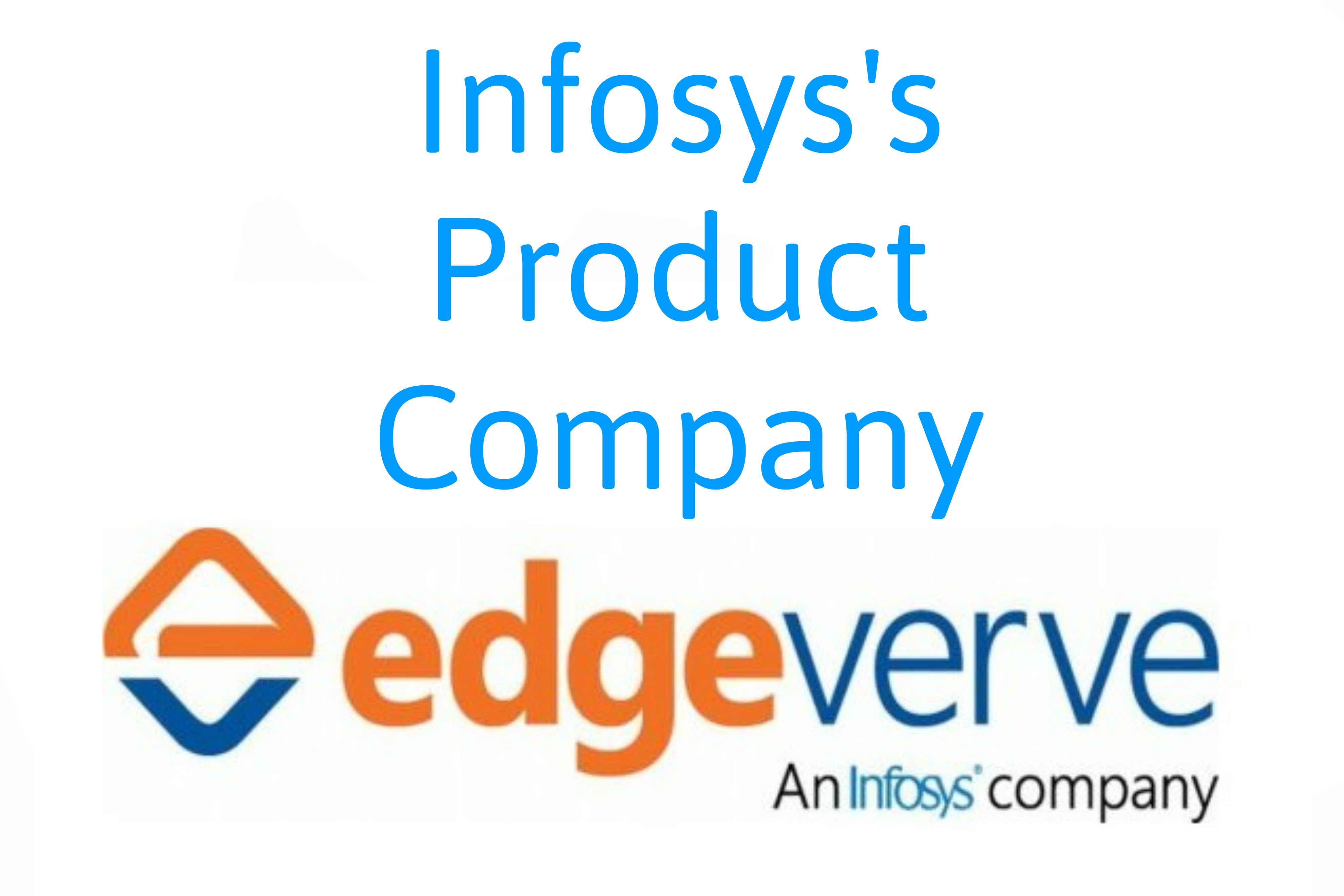 EdgeVerve Infosys