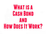 Cash Bond