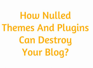 How Nulled Themes And Plugins Can Destroy Your Blog