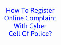 How To Register Online Complaint With Cyber Cell Of Police