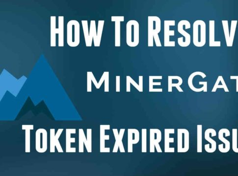 Minergate Token Expired