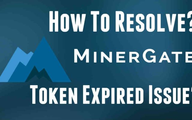 Minergate Token Expired