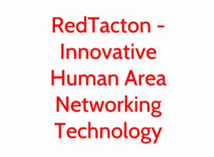 RedTacton – Innovative Human Area Networking Technology