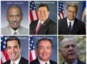 US Politicians Sexual Scandals 2017