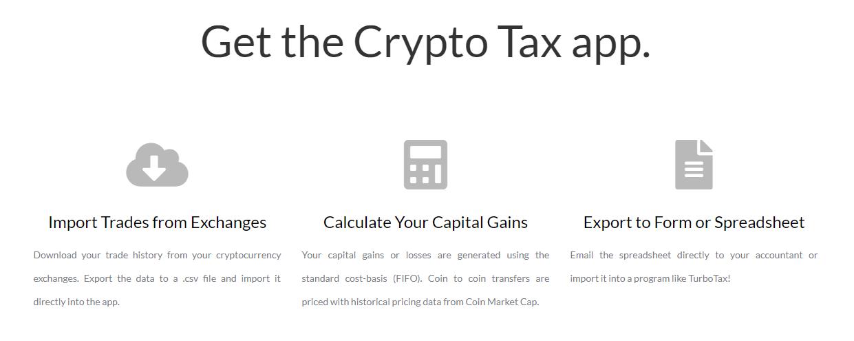 GetCryptoTax Features