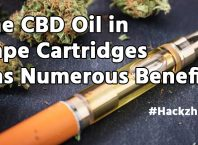 The CBD Oil in Vape Cartridges Has Numerous Benefits