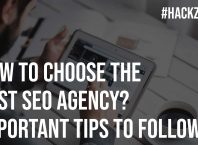How to choose the best seo agency important tips to follow