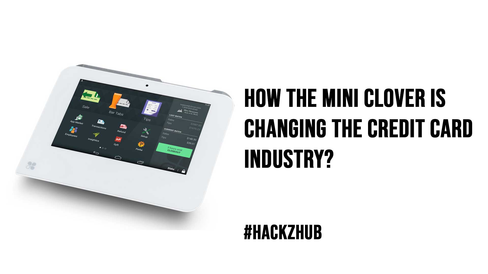 How The Mini Clover Is Changing the Credit Card Industry