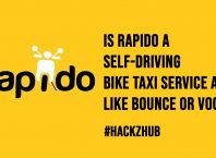 Is Rapido a Self Driving Bike Taxi Service App Like Bounce or Vogo