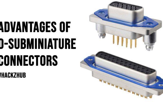 Advantages of D subminiature Connectors