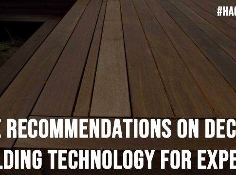 Five Recommendations On Deck Building Technology For Experts