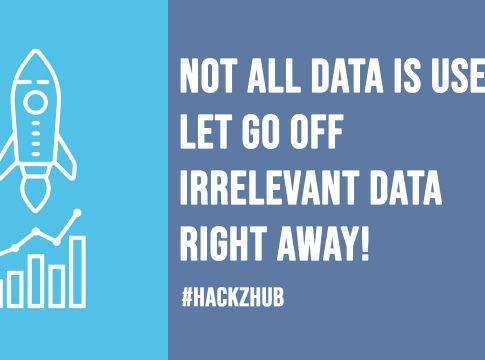 Not all Data is Useful Let go Off Irrelevant Data Right Away