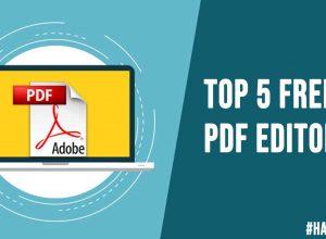 Top 5 Free Pdf Editors