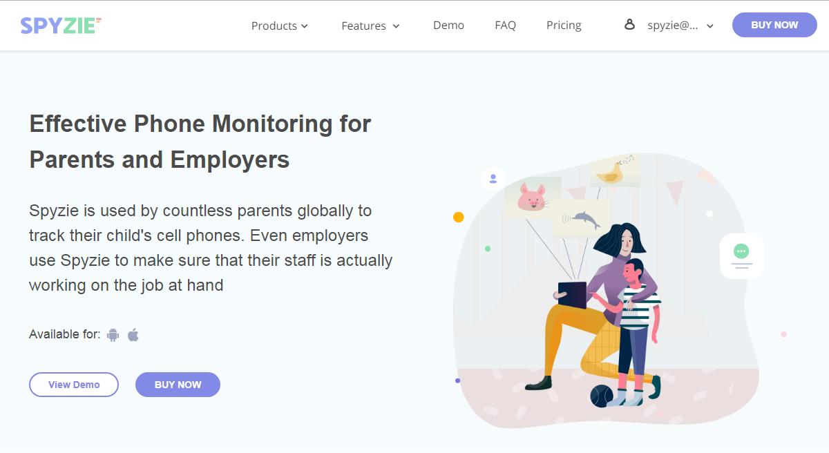Spyzie Homepage