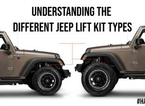 Understanding the Different Jeep Lift Kit Types