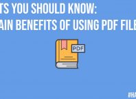 Facts You Should Know 6 Main Benefits of Using PDF Files