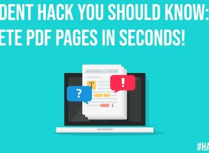 Student Hack You Should Know Delete PDF Pages In Seconds