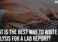 What is the Best Way to Write an Analysis for a Lab Report