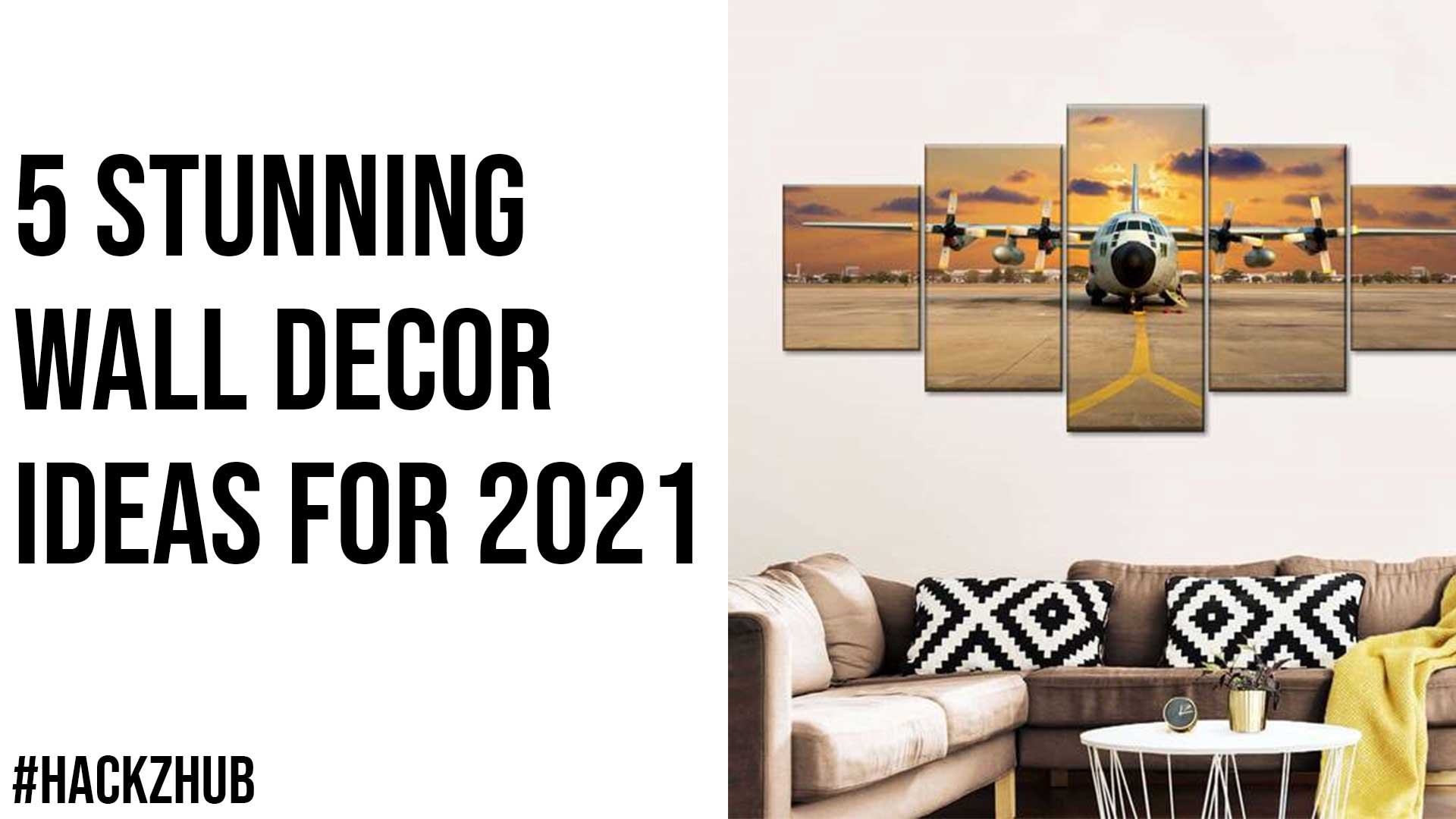 5 Stunning Wall Decor Ideas for 2021