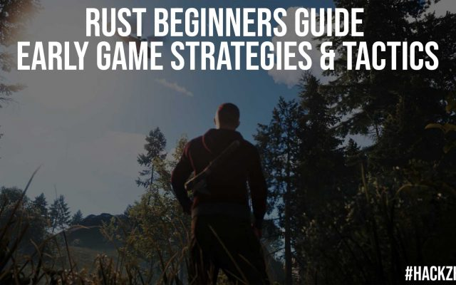 Rust Beginners Guide Early Game Strategies Tactics