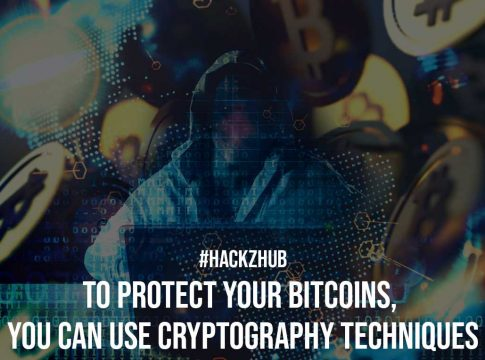 To Protect Your Bitcoins You Can Use Cryptography Techniques