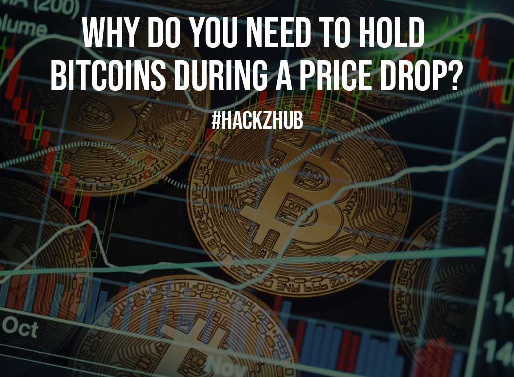 Why Do You Need To Hold Bitcoins During A Price Drop